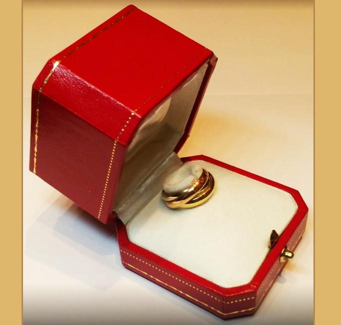 Trinity Cartier scatola