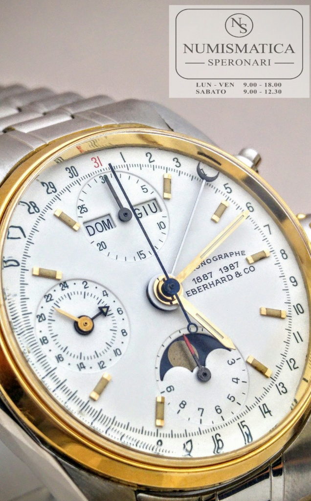 calendario completo Eberhard Navy Master quadrante