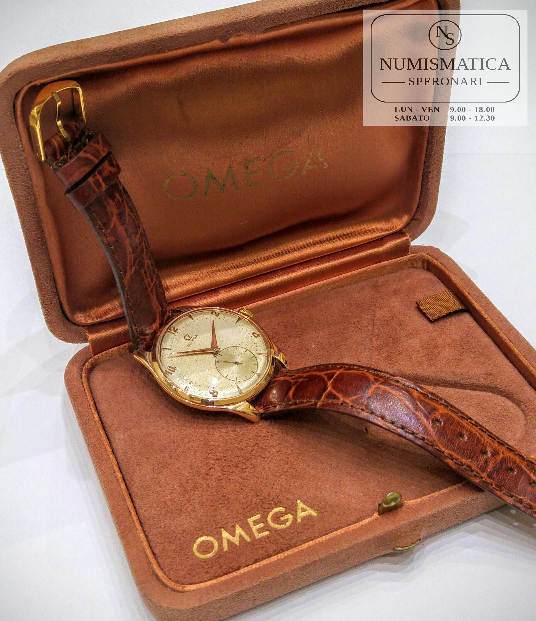 Omega Vintage Oversize oro rosa