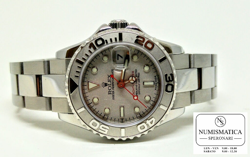 Rolex Yacht Master Lady 169622 ghiera in platino
