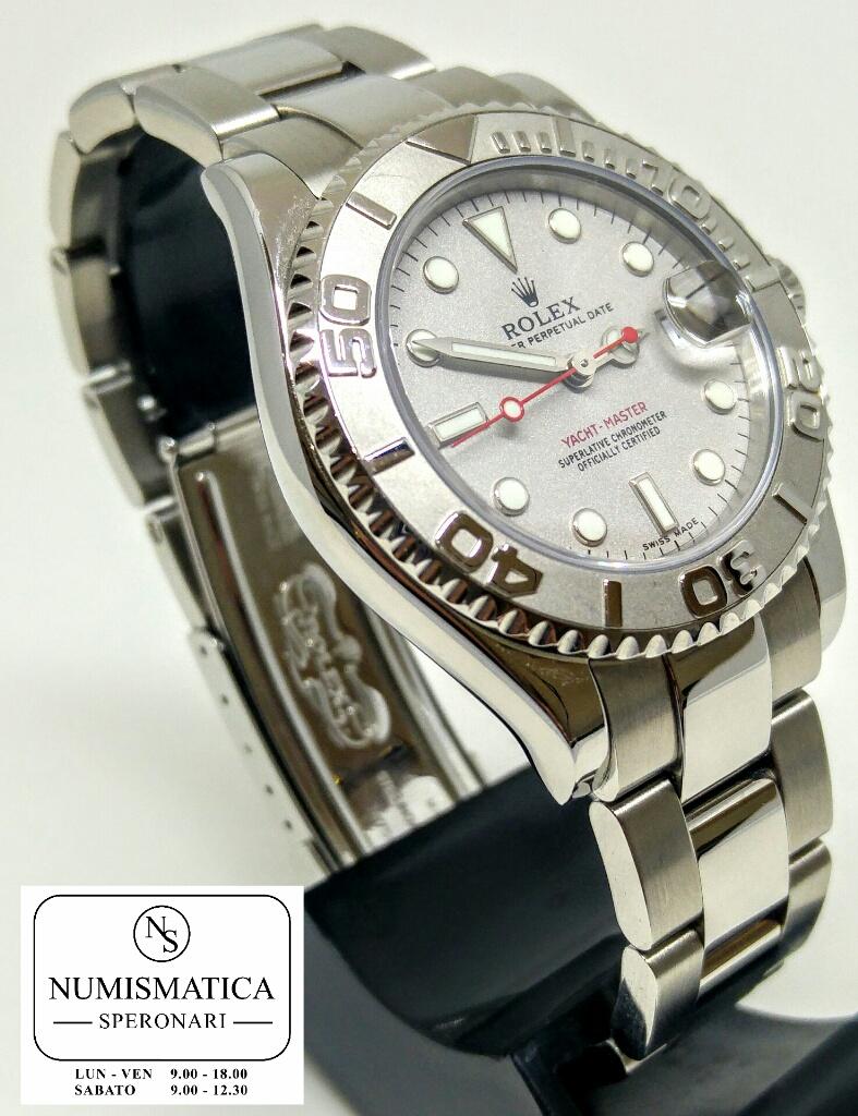 Rolex Yacht Master 168622 ghiera platino