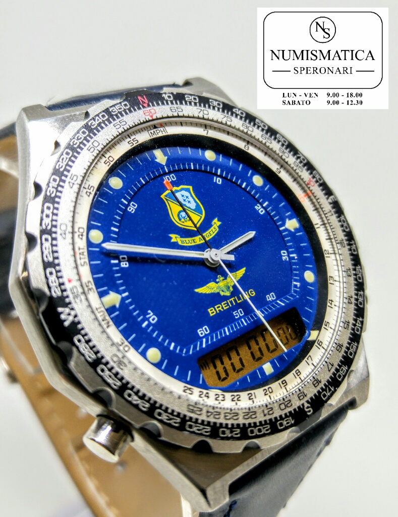 Breitling Pluton Blue Angel