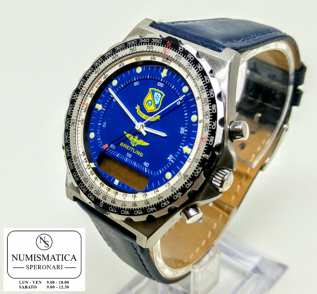 Breitling Pluton Blue Angel Quarzo