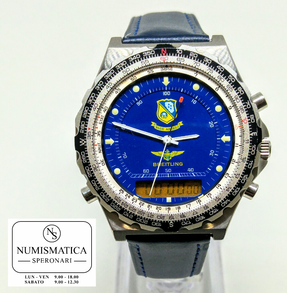Breitling Pluton Blue Angel Chrono