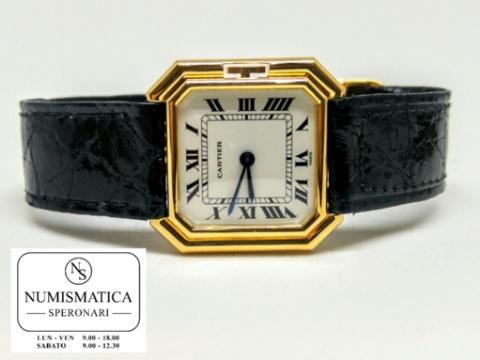 Orologi Cartier usati Ceinture quadrante bianco