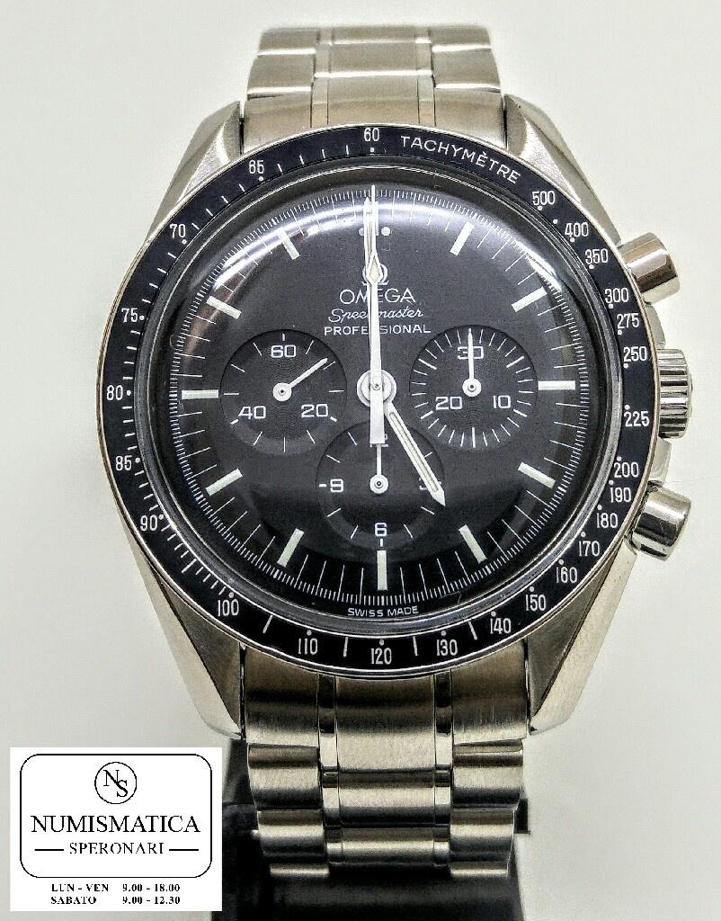 Omega speedmaster Moonwatch acciaio