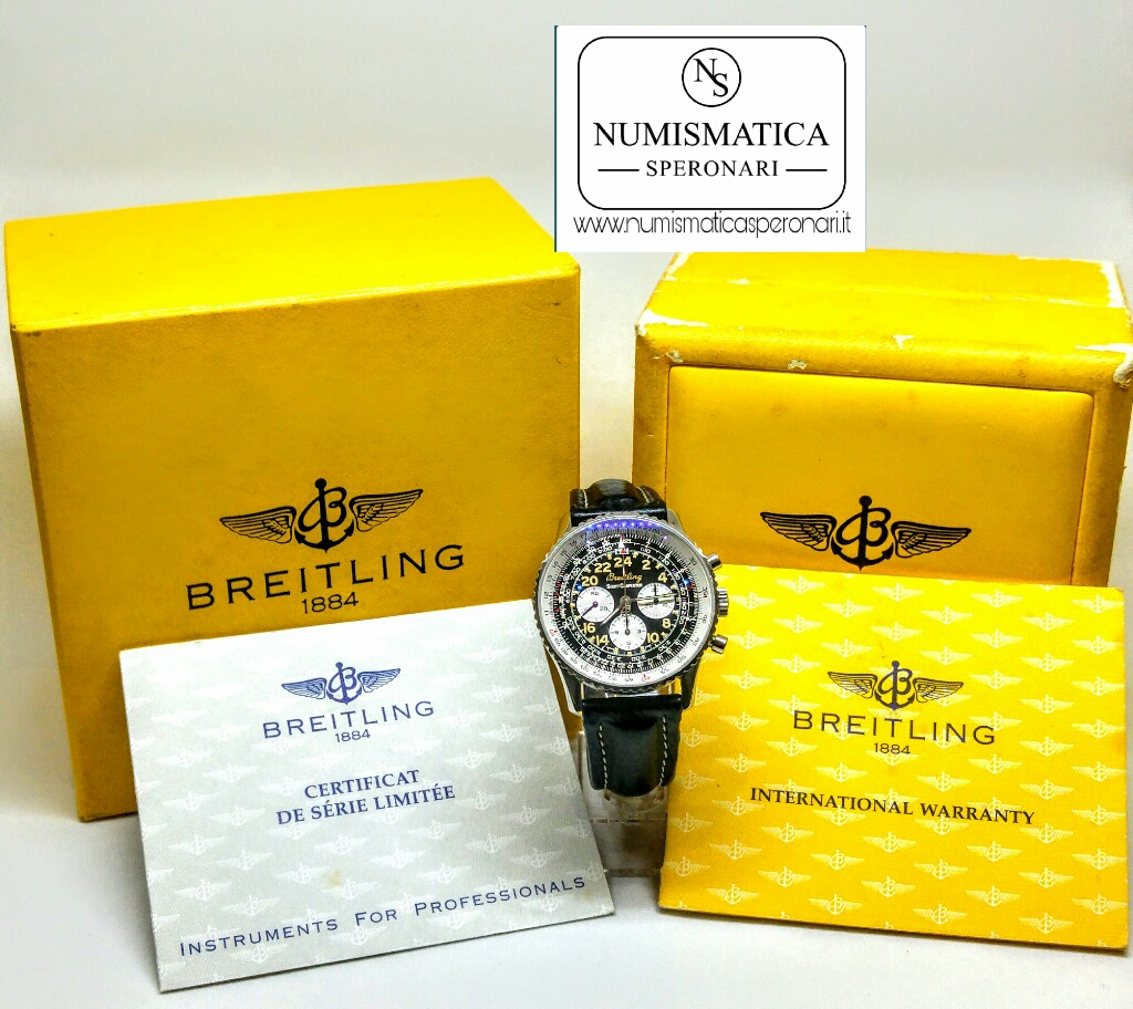 Breitling Cosmonaute Scott Carpenter scatola e garanzia