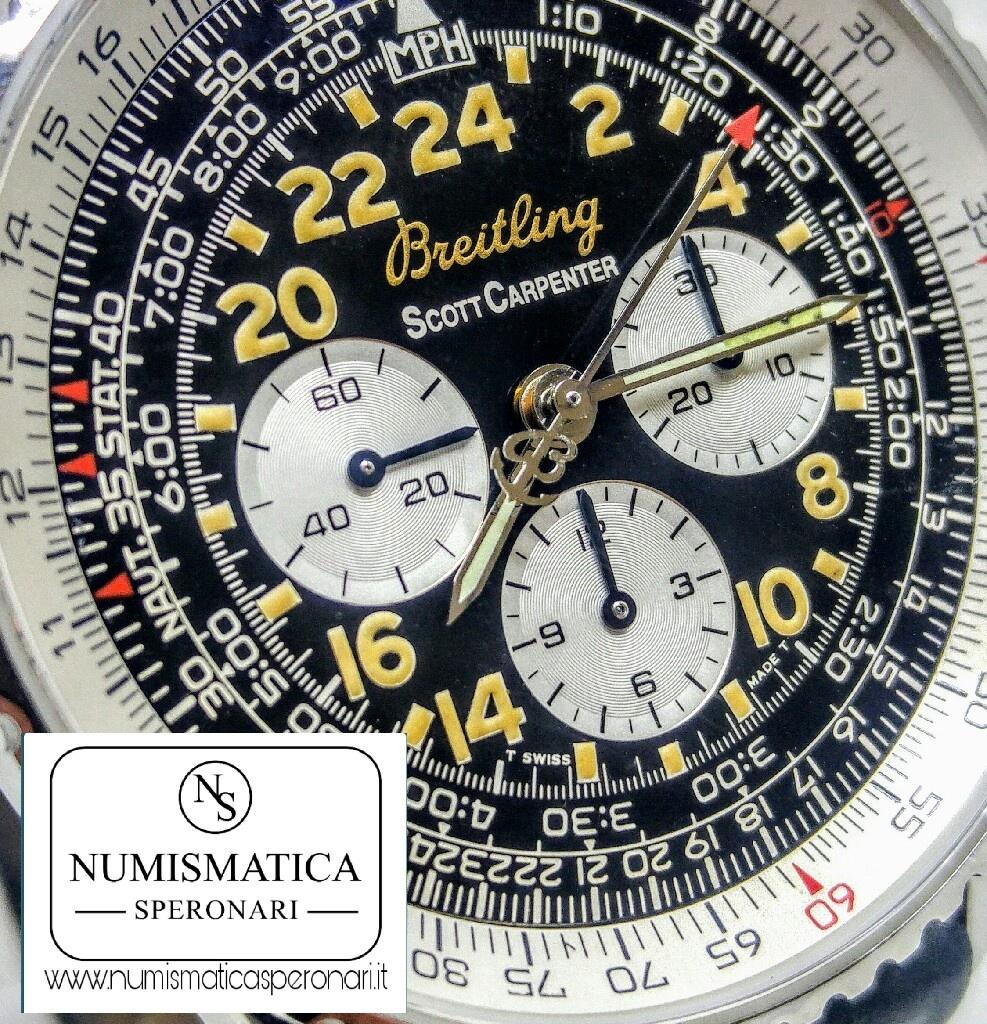 Breitling Cosmonaute Scott Carpenter dial