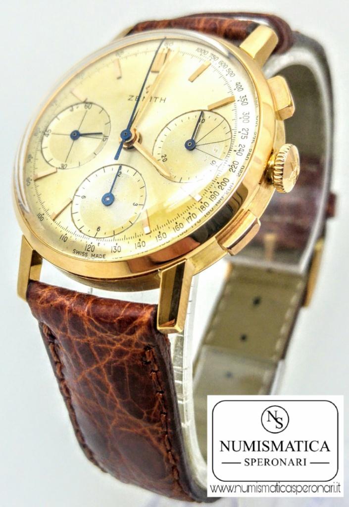Zenith Cronografo cassa oro