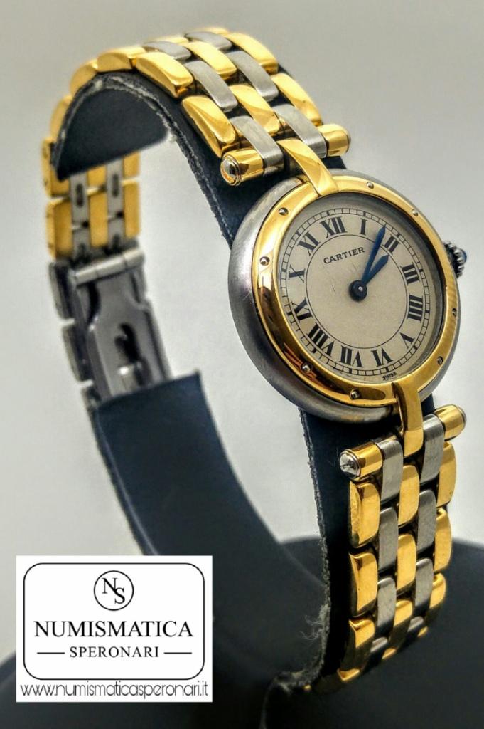 Cartier Panthere acciaio e oro