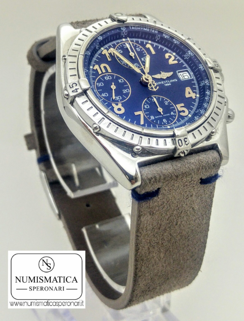 Breitling Chronomat A130501 con quadrante blu