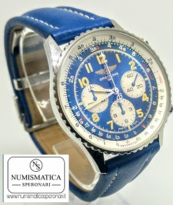 Orologi usati Milano Breitling Navitimer Blu