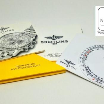 Breitling Cosmonaute Scott Carpenter accessori