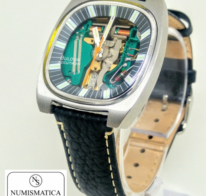 Bulova Accutron cassa cushion