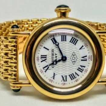 Cartier Diabolo oro giallo