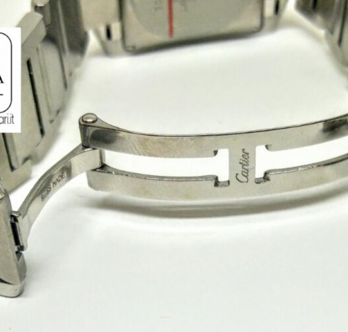 Cartier Tank Francaise braccialato