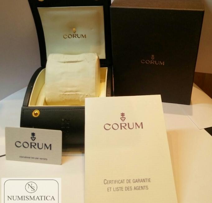 Orologio automatico Corum Bubble box&paper