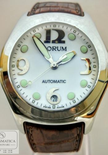 Orologio automatico Corum Bubble acciaio