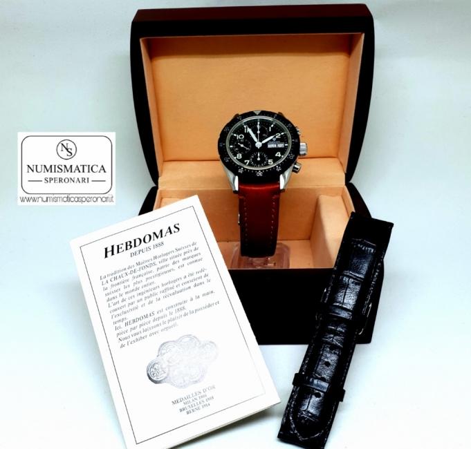 Hebdomas Chronograph scatola