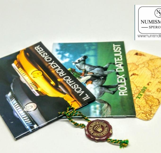 libretti pubblicitari Rolex Datejust 16013