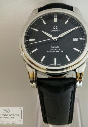 Omega De Ville Automatic quadrante nero
