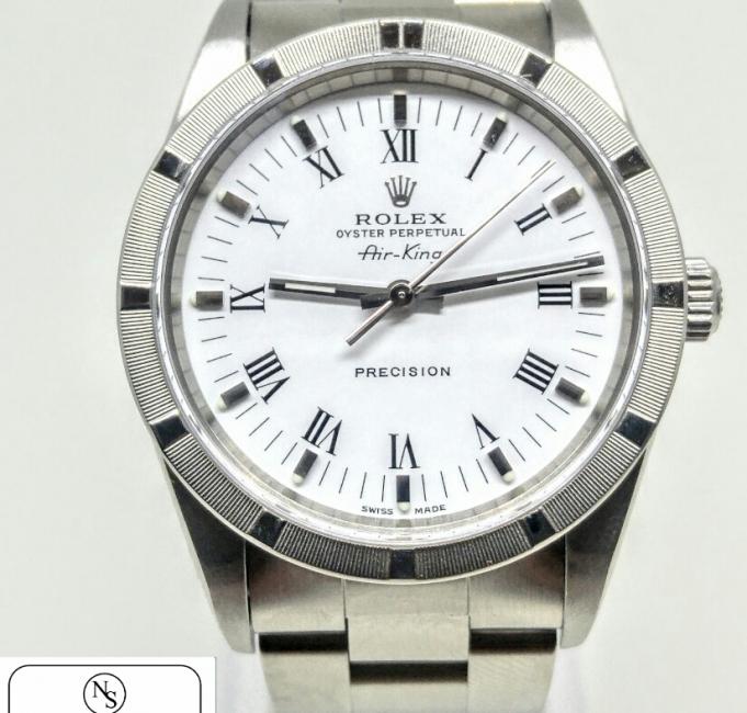 Rolex Air King acciaio