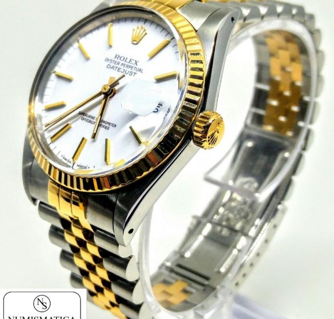 Rolex Datejust 16013 bracciale jubilee