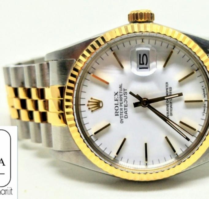 Rolex Datejust 16013 vetro plexiglass