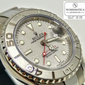 Rolex Yacht Master Lady 169622 quadrante in platino