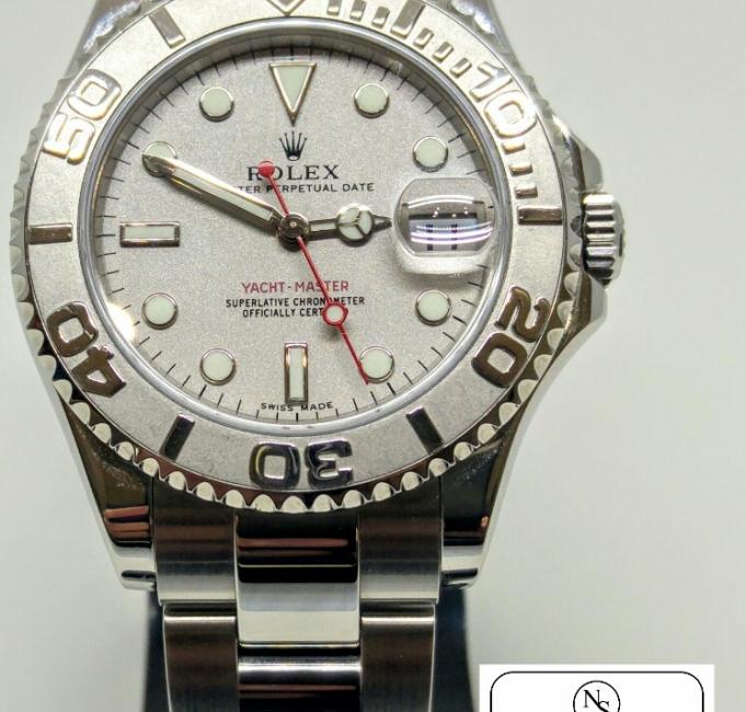 Rolex Yacht Master 168622 acciaio