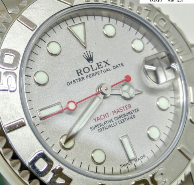 Rolex Yacht Master 168622 quadrante