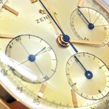 Zenith Cronografo 3 contatori