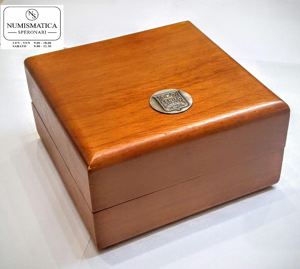 chrono Zenith El Primero scatola chiusa