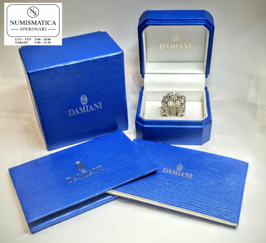 garanzia anello diamanti Damiani