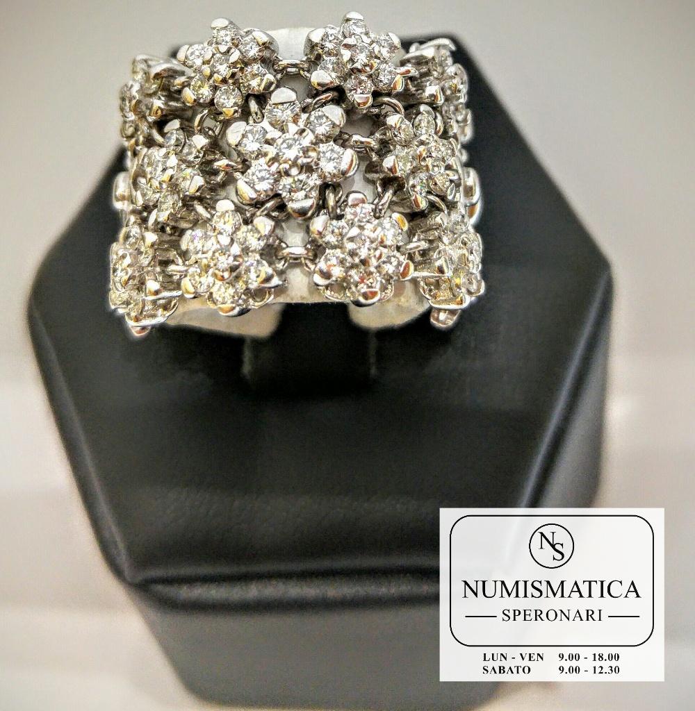 anello diamanti Damiani h color
