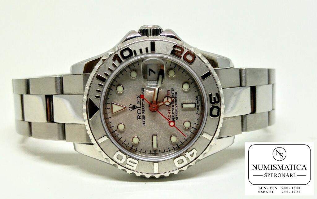 Rolex Yacht Master Lady 169622 ghiera in platino