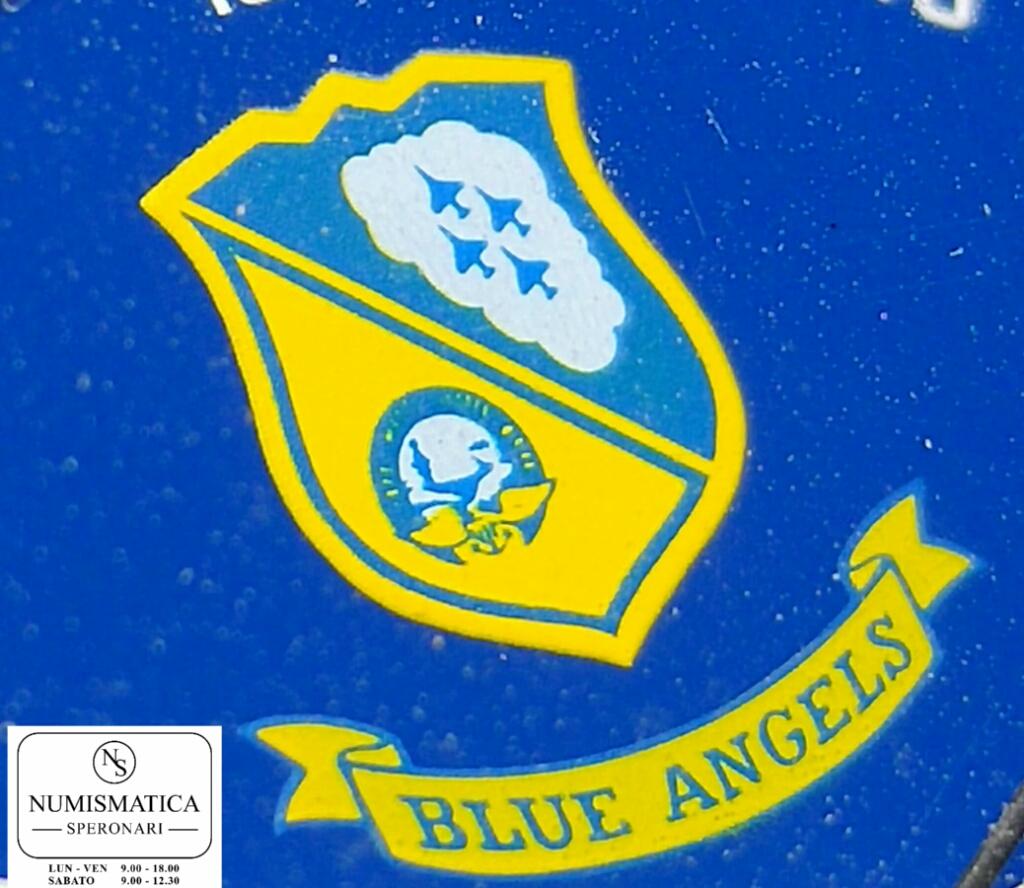 Breitling Pluton Blue Angel Logo