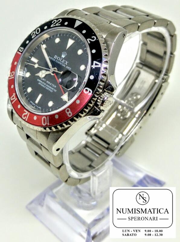 Rolex GMT Master acciaio