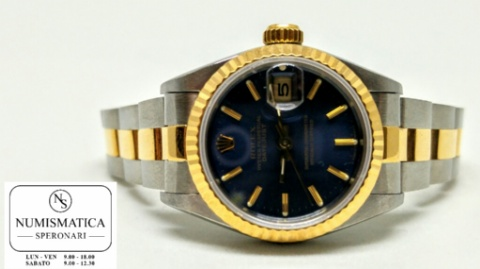 Rolex Datejust Lady quadrante blu