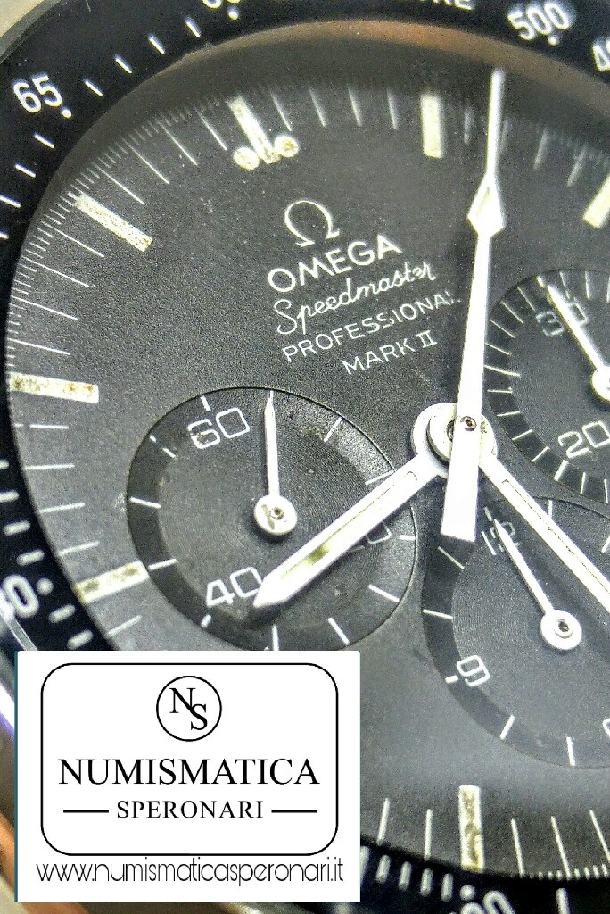 Omega Speedmaster Mark II quadrante nero