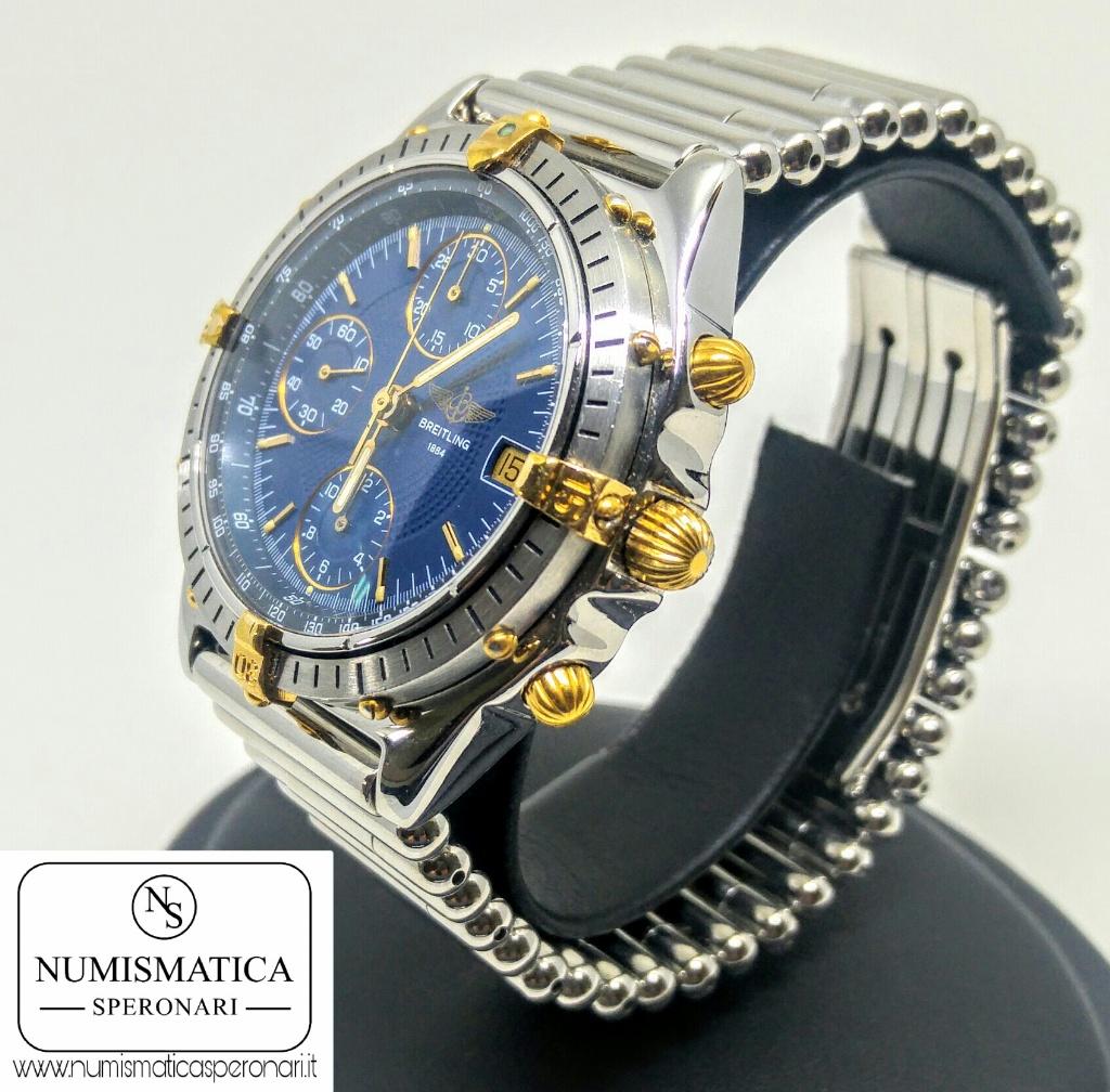 Breitling Chronomat quadrante blu