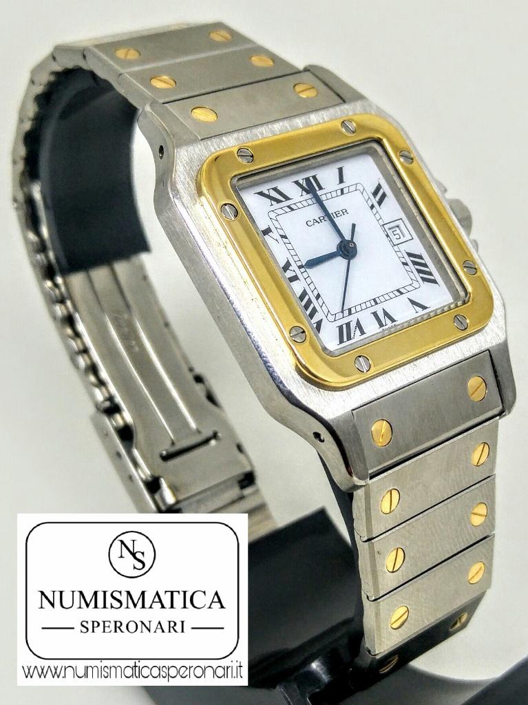 Cartier Santos acciaio e oro