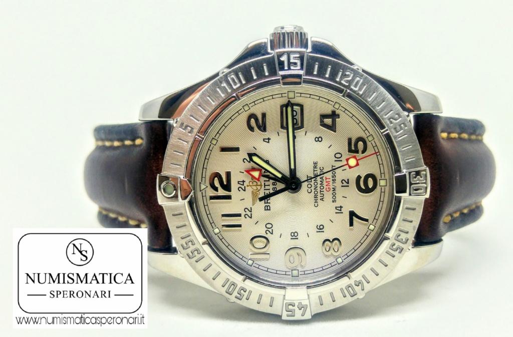 Breitling Colt GMT Quadrante bianco