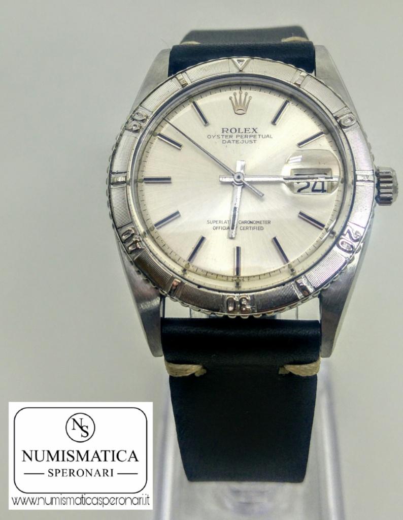 Rolex Turn o Graph Datejust, Numismatica Speronari via Speronari 7 MIlano, www.numismaticasperonari.it