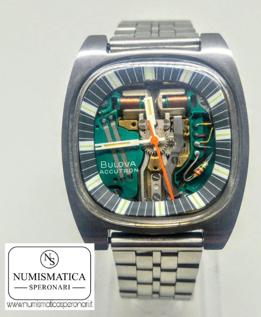 Accutron Spaceview movimento a vista