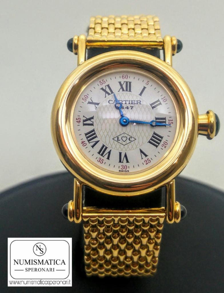 Cartier Diabolo quadrante Luis Cartier