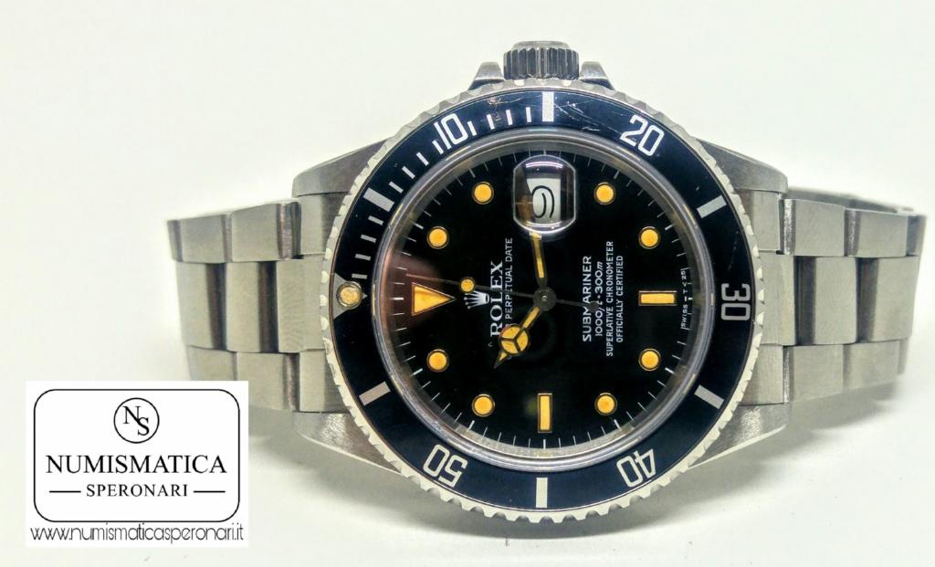 Rolex Submariner 16800, Numismatica Speronari, via Speronari 7 Milano, www.numismaticasperonari.it
