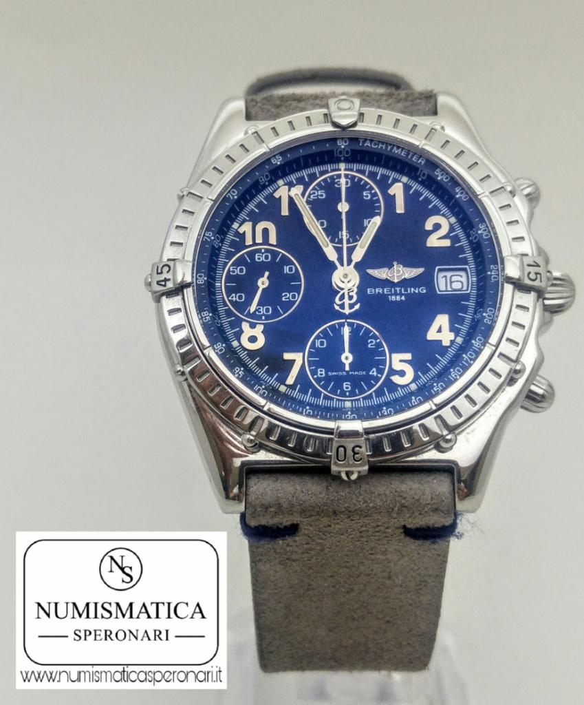 Breitling Chronomat A130501 acciaio, Numismatica Speronari via Speronari 7 Milano, www.numismaticasperonari.it