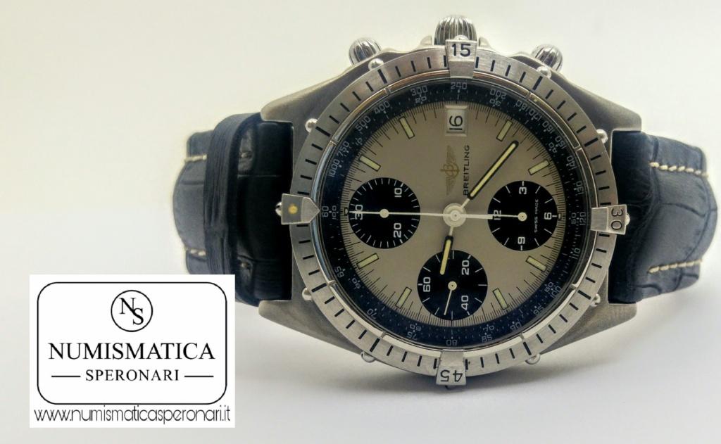 Breitling Chronomat 81950A quadrante bicolore