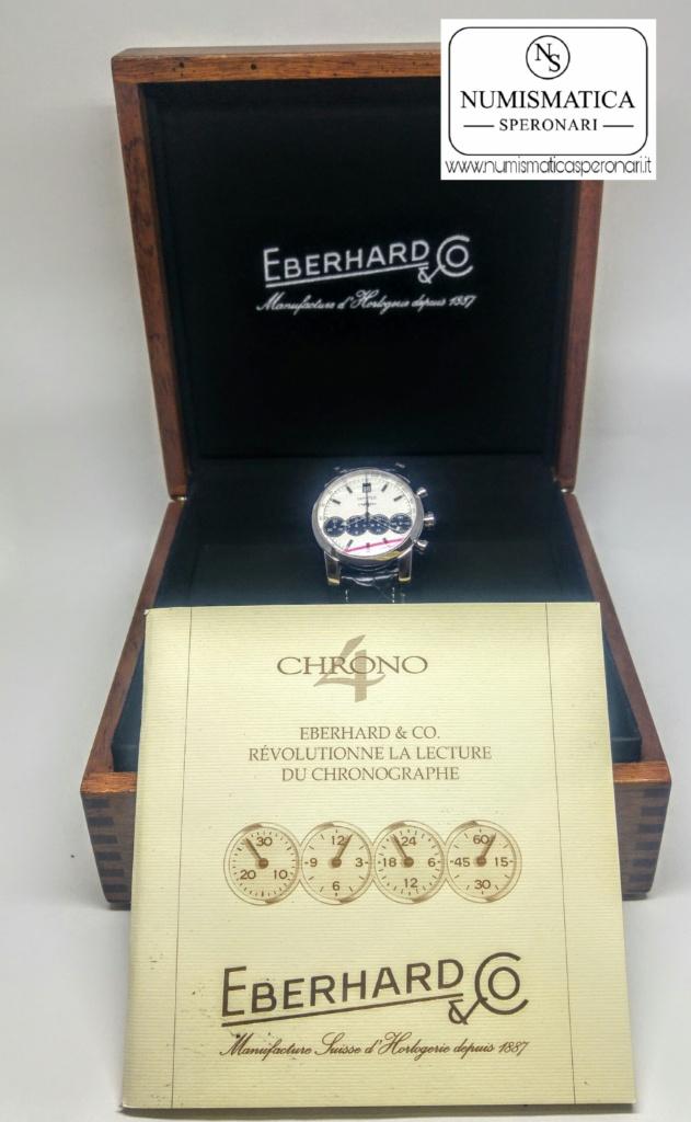 Eberhard Chrono 4 scatola e garanzia